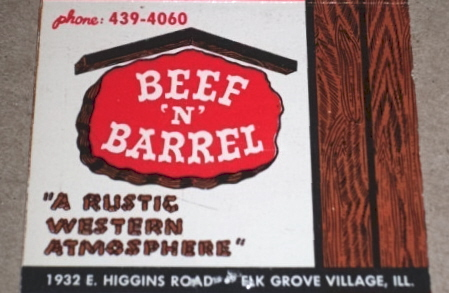 Beef 'N' Barrel / Multiple Chicagoland area locations
