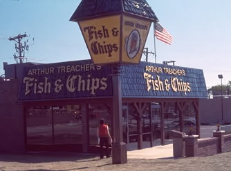 Arthur Treachers Fish & Chips / No longer in the Chicagoland area (founded 1969)